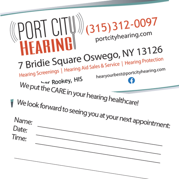 Port City Hearing Business Card